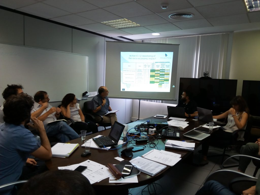 REWATCH CONSORTIUM MEETS IN VEOLIA FACILITIES FOR A REVIEW MEETING