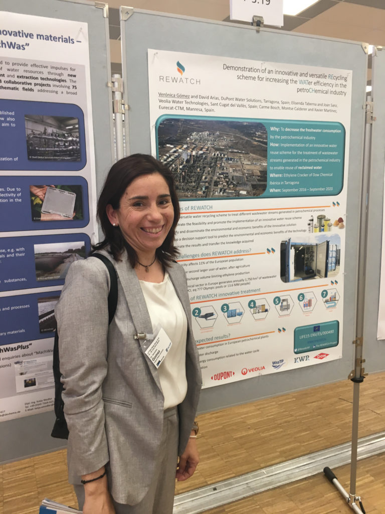 REWATCH project presented at IWA Water Reuse