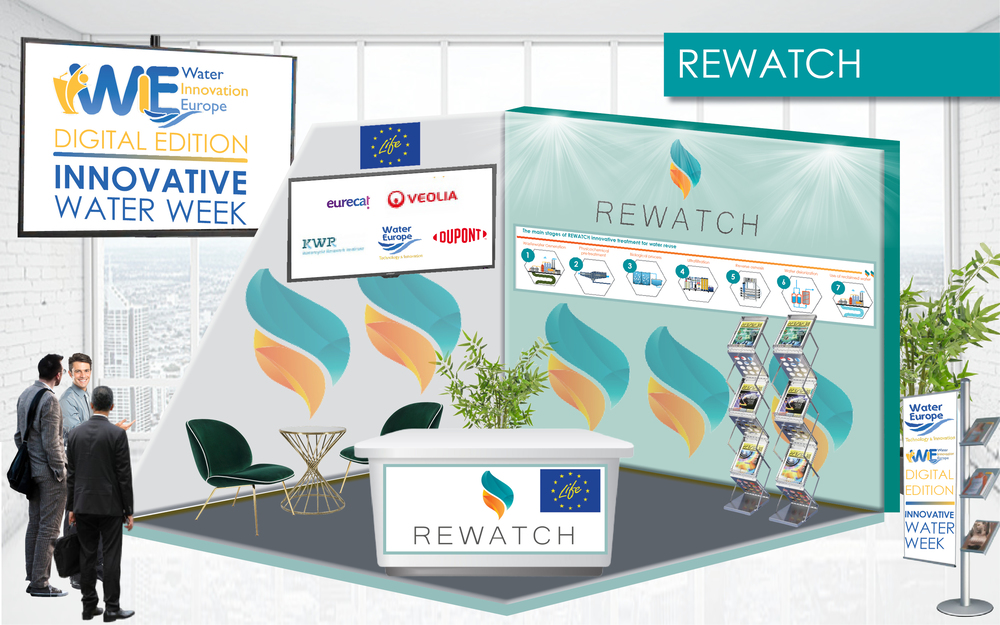 LIFE REWATCH Project was present on the Innovative Water Week